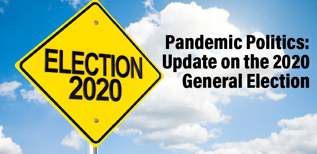 Web Seminar: Pandemic Politics: Update on the 2020 General Election