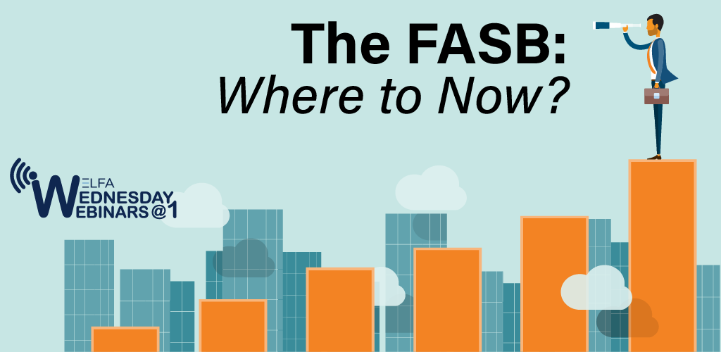 Web Seminar - The FASB: Where to Now?