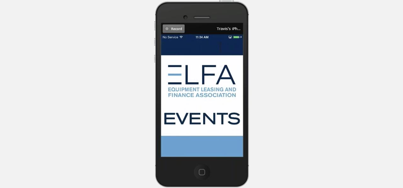 ELFA Events App