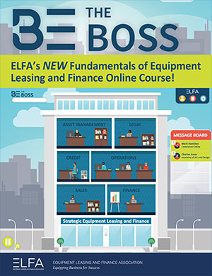 Be The Boss - Fundamentals of Equipment Leasing and Finance Brochure